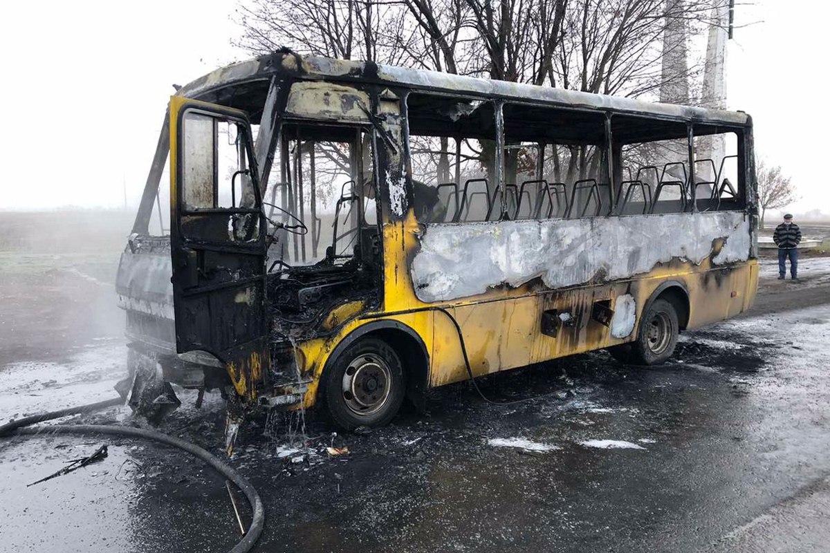 В результате пожара никто не пострадал / фото dp.dsns.gov.ua1